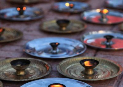 Ganga Puja ceremony and kirtan, International Day of Yoga