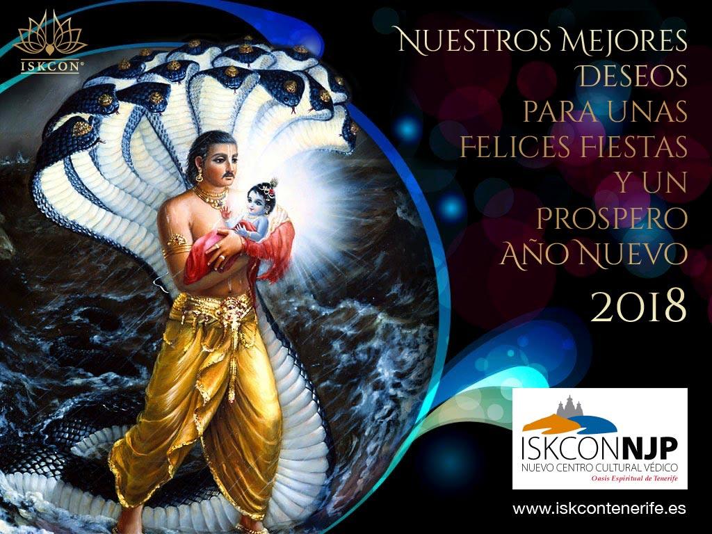 Felices Fiestas y un Prospero Año Nuevo 2018