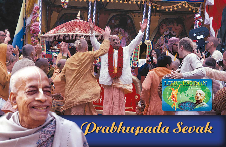 Prabhupada Sevak – Sponsorship of 1.111 €